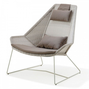 Breeze lounge stoel 'highback'