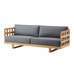 Square loungebank