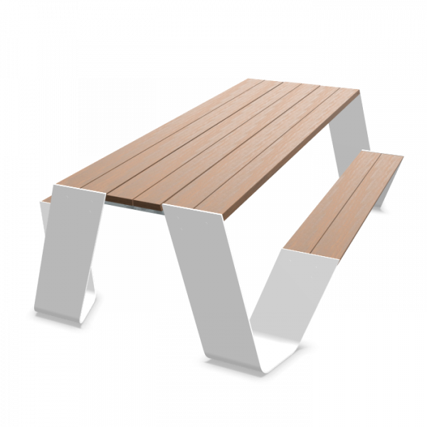 Extremis Hopper picnic 240cm - houten tafelblad